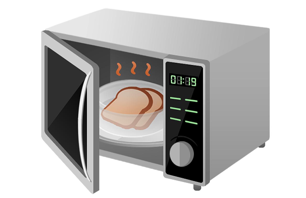Mikrowellen – Strahlung in der Küche: Der Mikrowellenherd ist schädlich